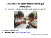 Enfoque intercultural de la educacion
