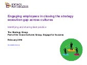 Engage for Success Cross Cultures Thought and Action Group