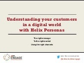 Understanding your customers in a digital world with Helix Personas