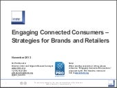 Engaging Connected Consumers - Strategies for Brands and Retailers