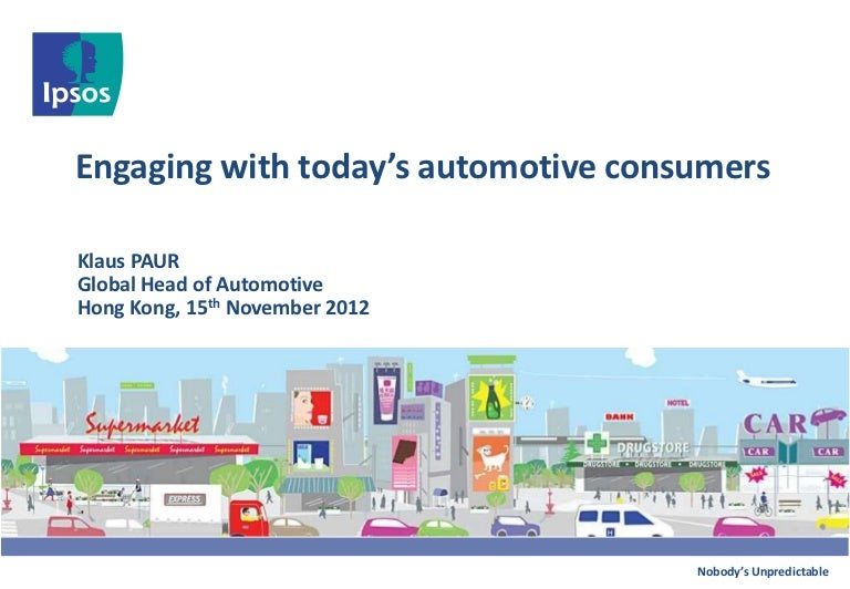 Engaging With Todays Automotive Consumers