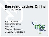 Engaging Latinos Online