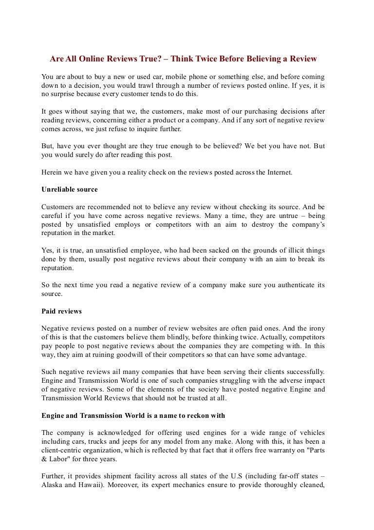 Engine And Transmission World >> Engine And Transmission World Complaints Engine And Transmission Wo