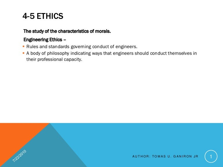 ethics case studies engineering Professional practice and ethics: case studies updated for 2010 changes to the professional engineers act these web pages have been updated to include both enacted and pending changes due to the open for business act, 2010.