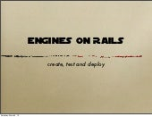 Engine on Rails