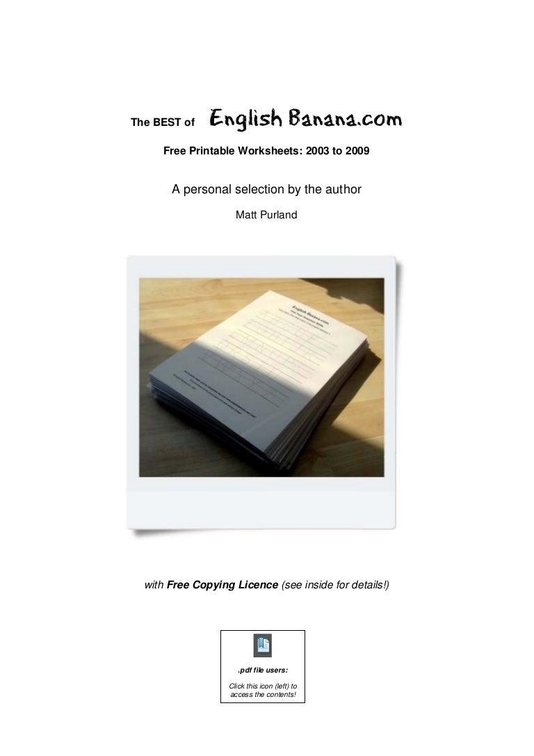 English Banana Com Complete Book [ 1087 x 768 Pixel ]