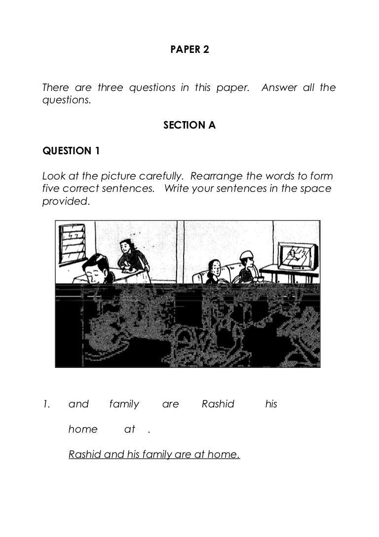 English-bi-bahasa-inggeris-tahun-3-paper-2