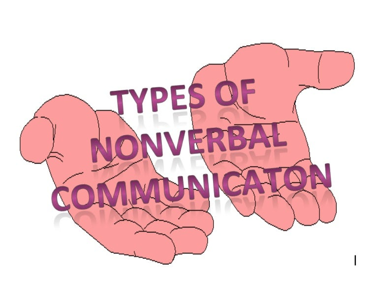 E N G L I S H Presentation Types Of Nonverbal Communication Monochronic culture vs polychronic culture; e n g l i s h presentation types of