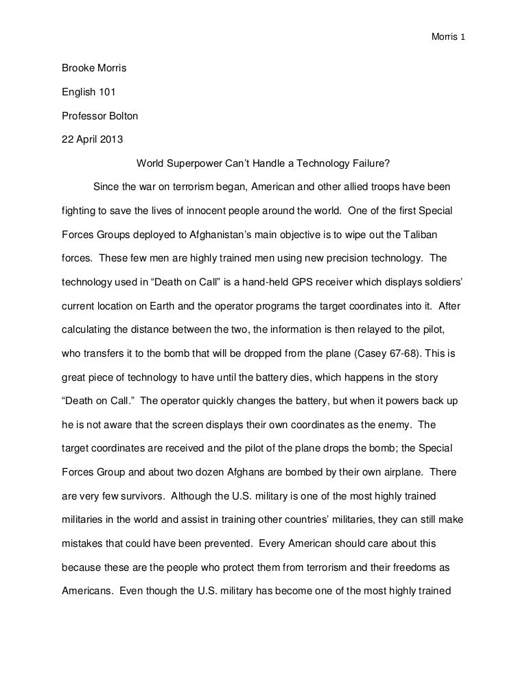 Retreat reflection essay for english 101