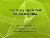 English language retreat