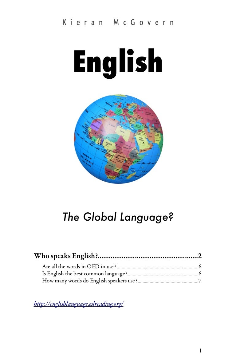 English Global Language Essay 91 121 113 106 English Global Language Essay
