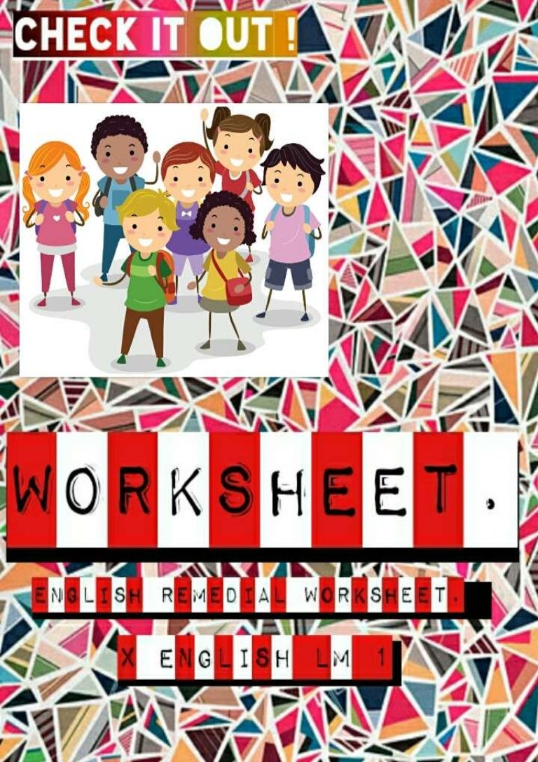 Workbooks understatement worksheets : x lm 1 worksheet