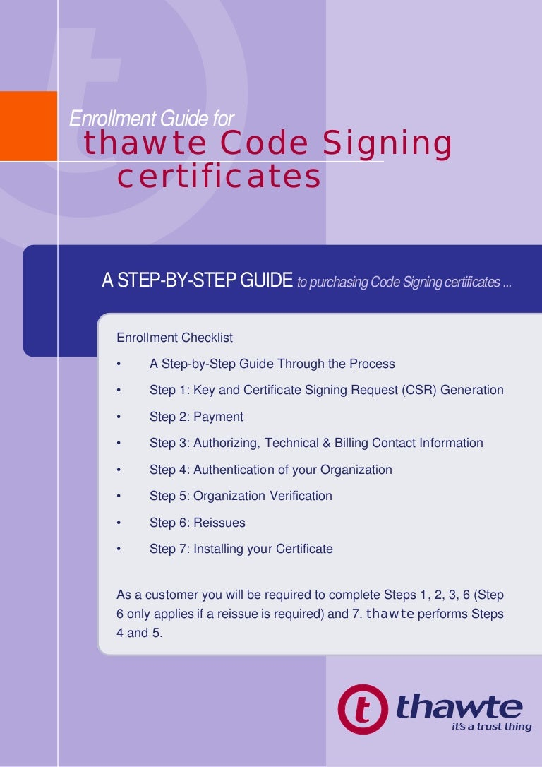 Enrollment guide of code signing certificates 1betcityfo Image collections