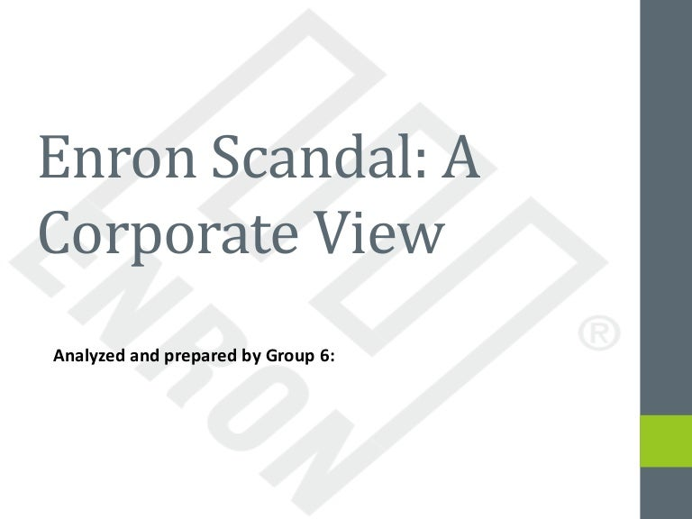 Fraudulent accounting and enron scandal explained.
