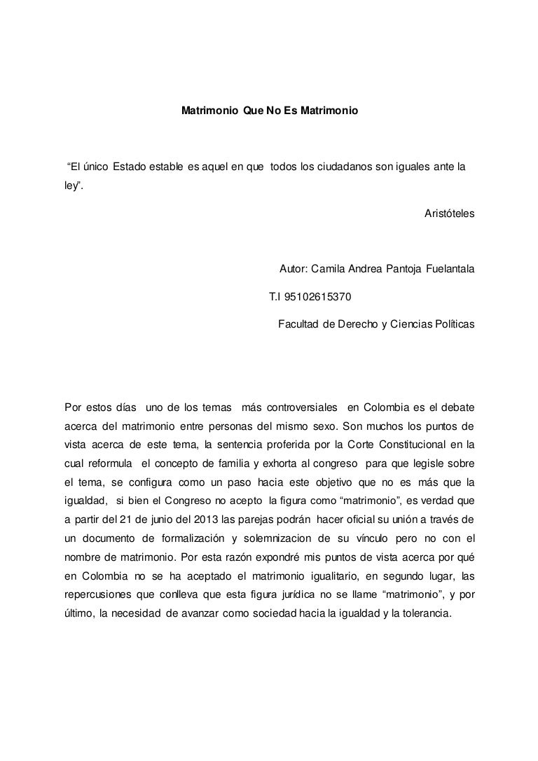 Sentencia tribunal constitucional matrimonio homosexual pdf