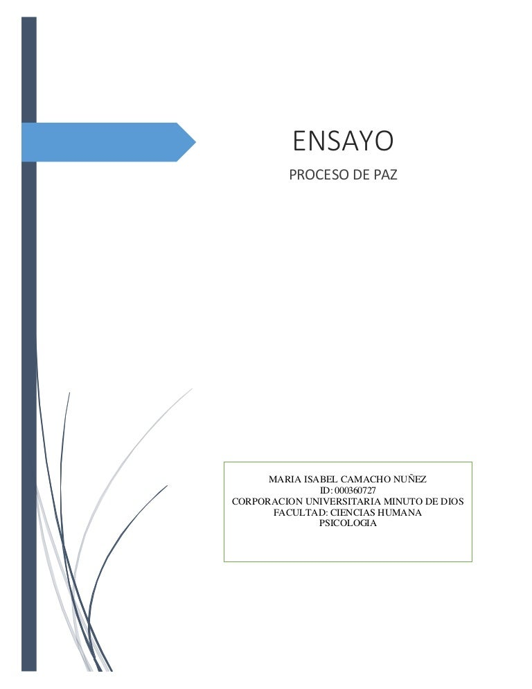 ensayo proceso de conocer essay A rhetorical analysis essay is a form of writing where the author looks at the topic in greater detail and prove his standpoint how to start a rhetorical analysis essay another thing to keep in mind is the organization is essential for any types of academic writing, and a rhetorical paper is not an exception.