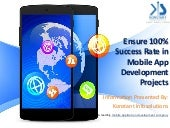 Ensure 100% Success Rate in Mobile App