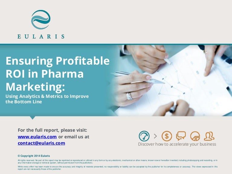 Ensuring Profitable ROI in Pharma Marketing (mini)