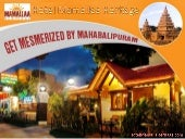 Enter an Ancient Place - Experience Mahabalipuram