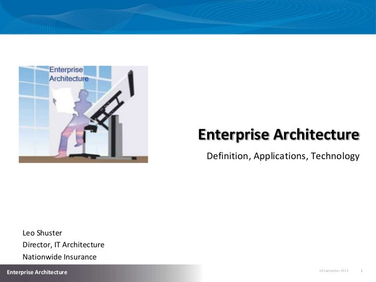 introduction to enterprise architecture
