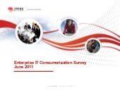 Enterprise it consumerization survey