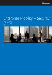 Enterprise Mobility + Security (EMS) カタログ (2016 年 8 月)