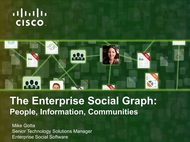 Enterprise social graph aii m final