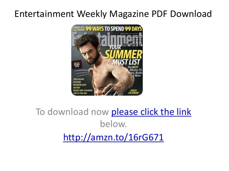 Entertainment weekly 11. 30. 2018 » download pdf magazines.