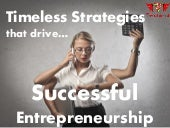 Attributes of a successful Entrepreneur