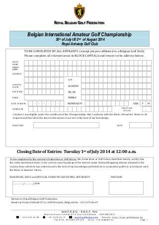 Entry form biac 2014
