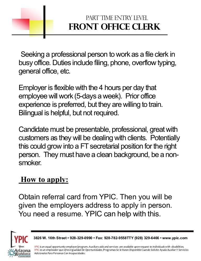 job description for file clerk - Gecce.tackletarts.co