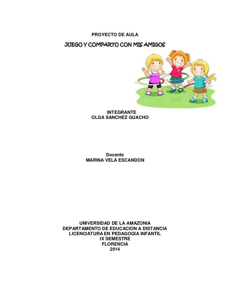 PROYECTO DE AULA \
