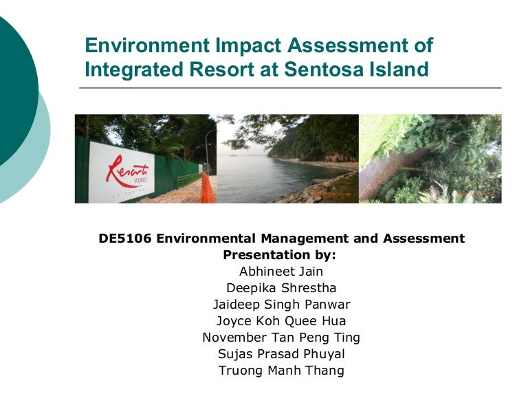 How to write environmental impact assessment report
