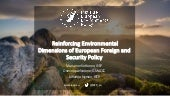 Environmental dimensions of security - Johanna Nyman