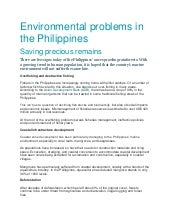 case study about environmental problems in the philippines