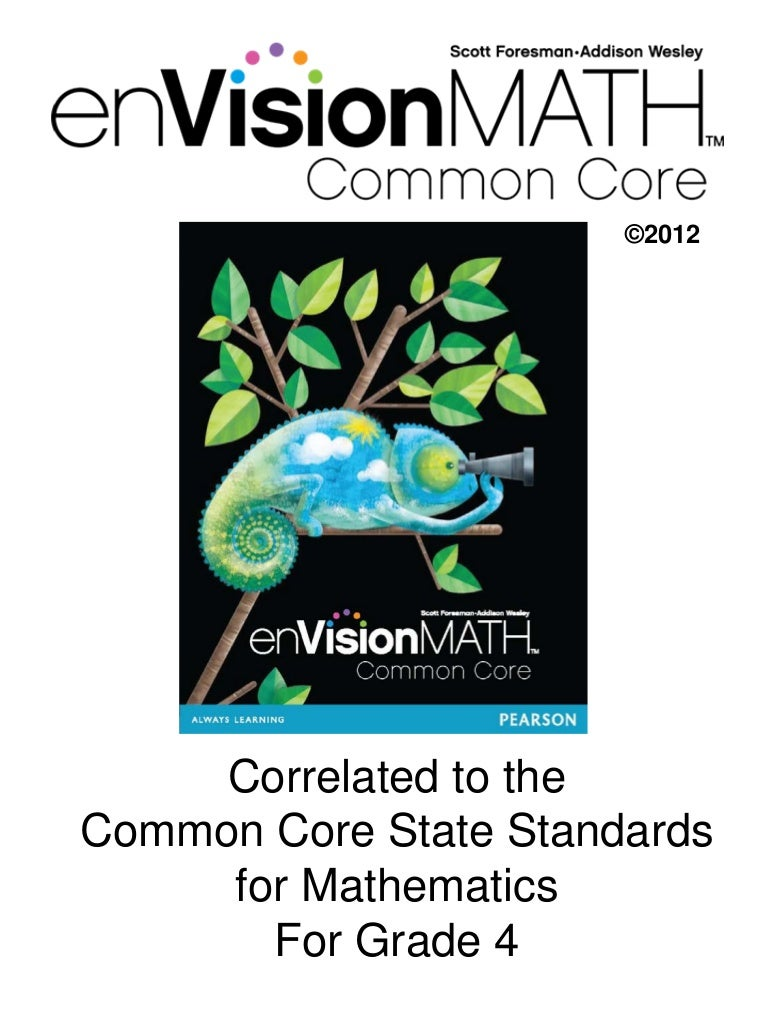 Workbooks envision math grade 5 workbook online : math common core