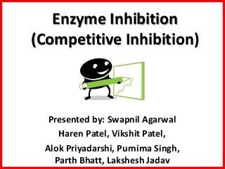 Enzyme inhibition ppt final