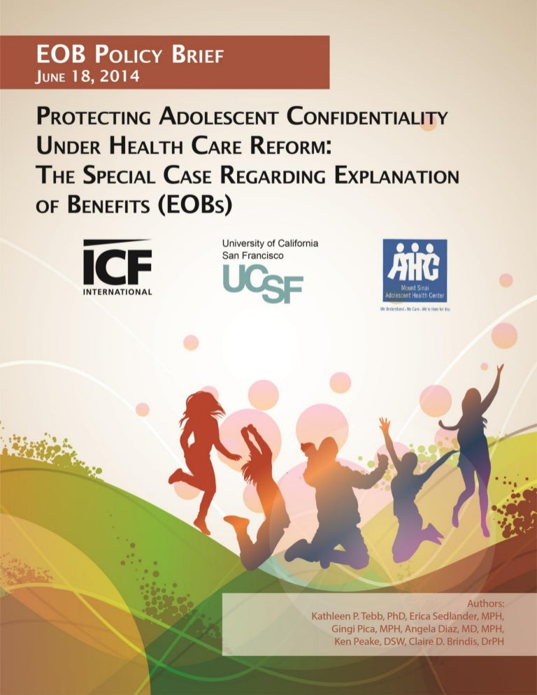 Protecting Adolescent Confidentiality Under Health Care