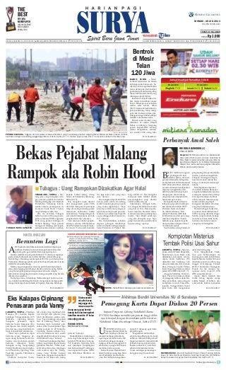 Epaper Surya 28 Juli 2013