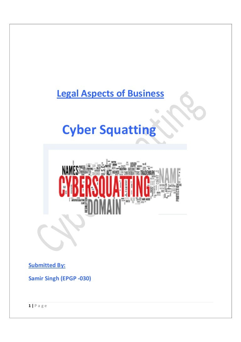 foto How to Identify Cybersquatting