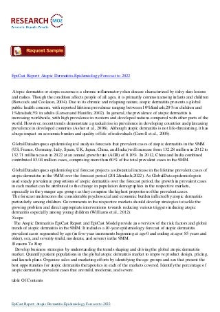epicastreport-atopicdermatitis-epidemiol