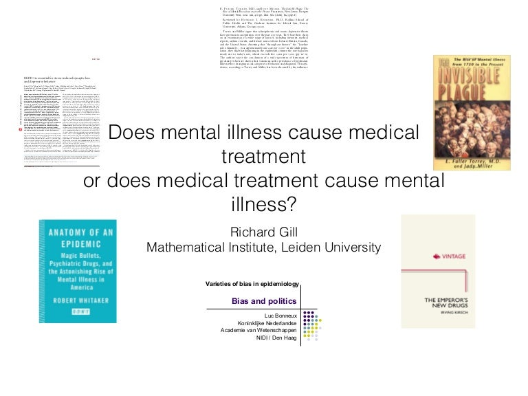 Is There An Epidemic Of Mental Illness If So What Causes It