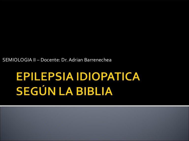 Idiopaattinen Epilepsia