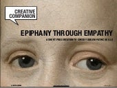 Epiphany through Empathy