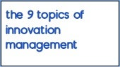 InnoUpdate Episode :  9 topics of innovation management