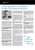 A New Approach to Investing in Private Technology Companies - Amir Guttman news release