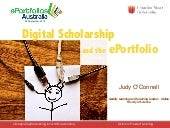 Digital Scholarship powered by reflection and reflective practice through the use of an ePortfolio approach to course design in Higher Education