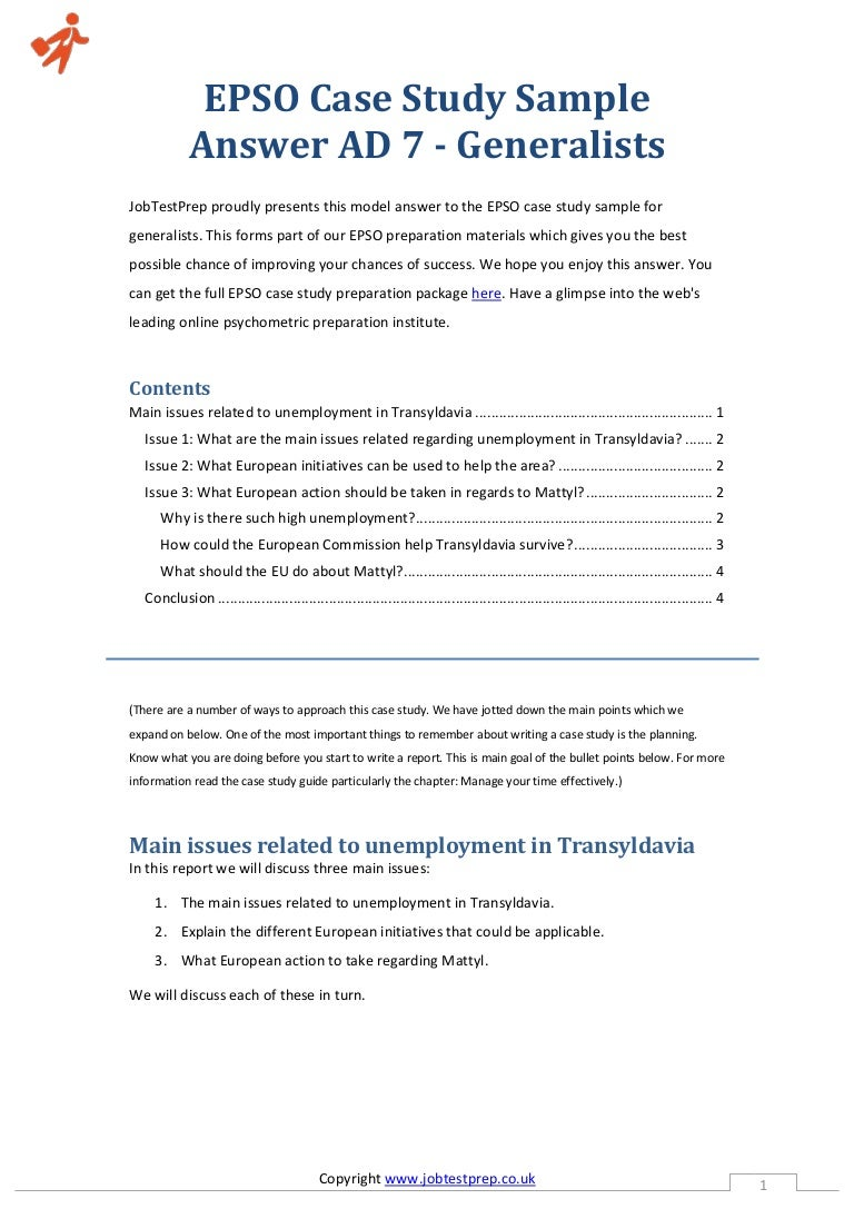 sample answers case study Sample questions and answers (aaci) interview case study examples, business case interview examples, capital one case interview examples 12 job interview case study samples • 15 interview followup email examples this list below contains links to sample case study interviews and advice.