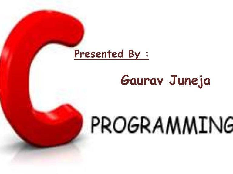 C Language Logo C language ppt...
