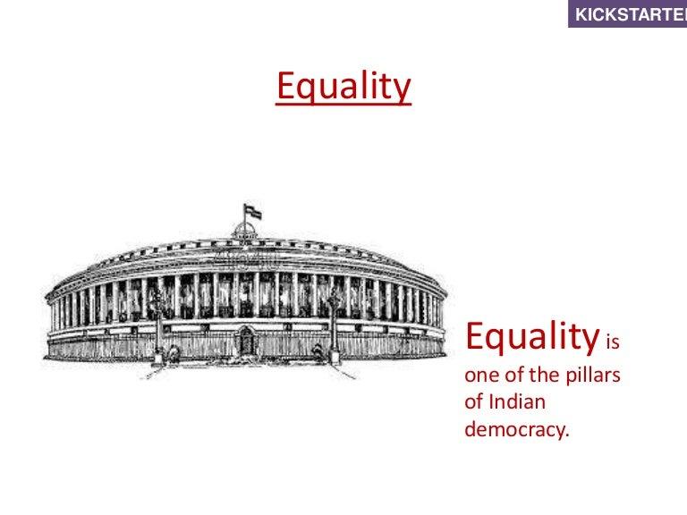 Equality (Grade 7 - Civics)